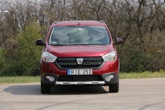 A Dacia Lodgy még mindig üres terei miatt vonzó