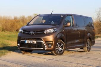 Japánnak öltözött francia - Toyota ProAce Verso teszt