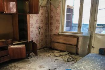 Így néz ki 2019-ben egy panelház belülről Csernobilban