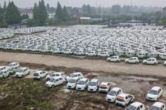 Így pörög Kína: több száz villanyautó rohad a határban elhagyva