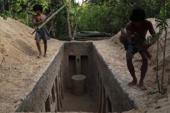 Őrület mit hozott össze két férfi puszta kézzel a dzsungelben