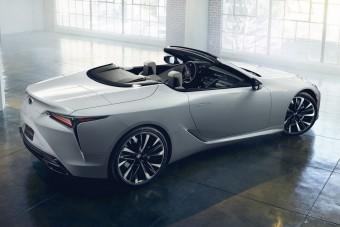 Megépülhet a Lexus luxus-kabriója