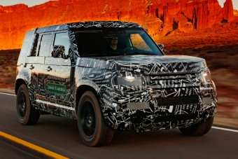 Prototípusként is igát von az új Land Rover Defender