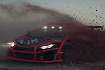Elképesztő, mit műveltek ezzel a Lamborghinivel