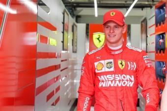 Feltámadt a Schumacher-mánia