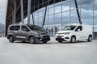 Toyota-emblémával is jön a Peugeot Partner