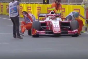 F1: Kettős gázolás Bakuban, folytatódik a kabaré