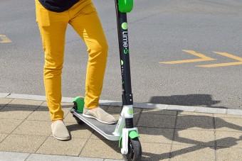 Budapesten is elindulnak a Lime villanyrollerjei