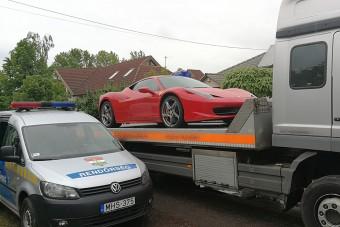 Milliárdos pénzmosás, Ferrarit is lefoglaltak itthon