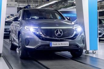 Már gyártják a Mercedes villanyautóját