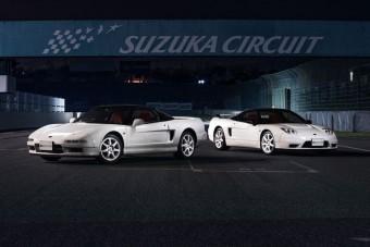 Itt van kettő, gyönyörű Honda NSX a japán sportautók aranykorából