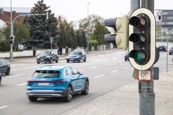 Az Audik már tudják, mikor lesz zöld a lámpa
