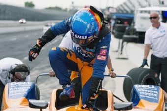 Indy 500: Alonso elhasalt a kvalifikáción
