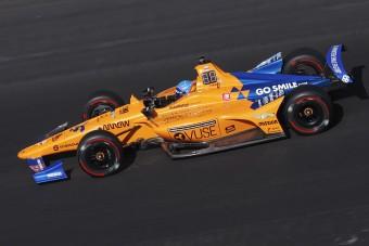 Felsült Alonso és a McLaren az Indy 500-on