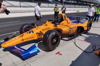 Rosszul indul Alonso idei Indy-kalandja