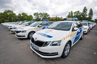Ötszáz vadiúj autót kaptak a rendőrök, ezek azok