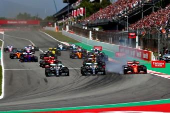 F1: Nem a kuplungon ment el Bottas rajtja