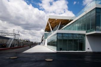 F1: Átadták a 13 milliárdos új központot
