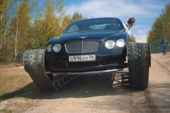 Az oroszok megcsinálták a lánctalpas Bentley-t