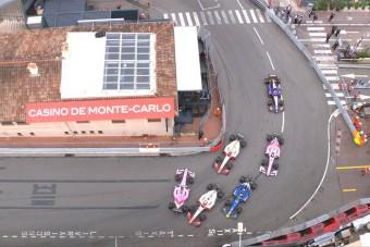 F1: A kis Schumacher apját másolta Monacóban