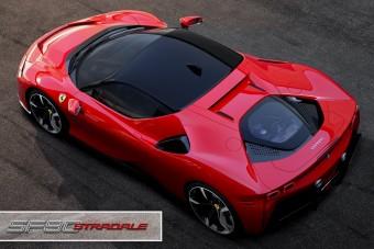 1000 lóerős, elsőkerék-hajtású Ferrari született!