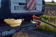 Katasztrofális vontatást mutattak be a románok az M3-ason 3