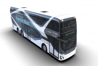 Emeletes busz a Hyundaitól