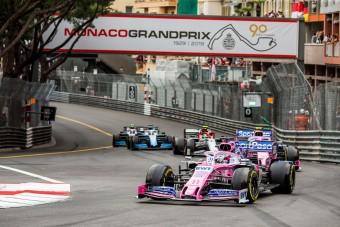 F1: Perez majdnem elütött egy pályabírót - videó