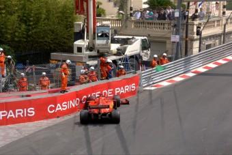 F1: Vettel összetörte a Ferrarit az időmérő előtt