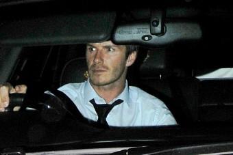 Bevonták David Beckham jogosítványát