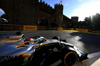 F1: Így maradt le Hamilton Bakuban