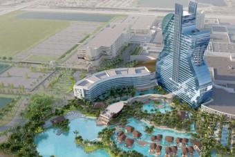 Ilyen lesz a világ első gitár alakú szállodája