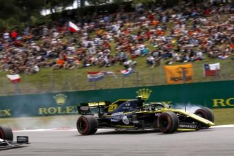 F1: Így törte meg Hülkenberg a Renault-t - videó