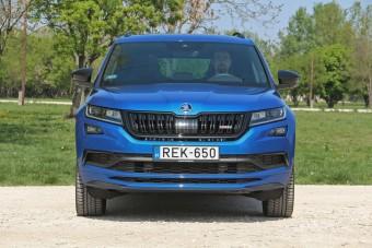 Škoda Kodiaq RS: nagybetűs összhang