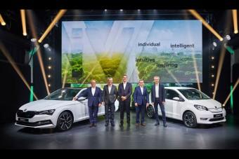Škoda iV: jönnek a villany-Škodák