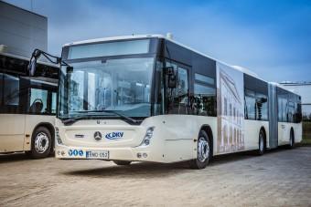 Látványos dekorációt kaptak az új debreceni buszok