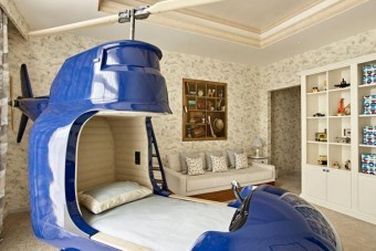 Irigyeljük a gyereket, aki ebben az ágyban alszik