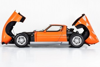 Előkerült az eredeti olasz melós Lamborghini Miura