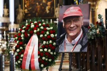 F1: Óriásgaléria Lauda búcsúztatásáról