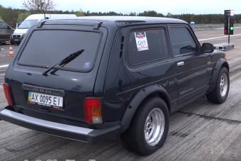 Ilyen még nem volt: Lada Niva 2500 lóerővel