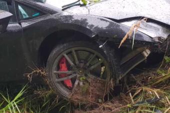A törött Lamborghini alumíniumvázát is helyrepofozza az orosz szaki