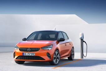Itt van leplezetlenül az új, elektromos Opel