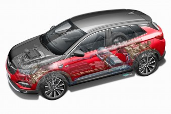 Konnektoros hibrid crossover az Opeltől