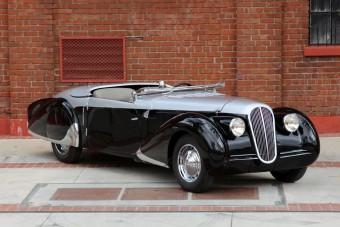Peugeot, Rolls-Royce áron: 402 Pourtout Cabriolet