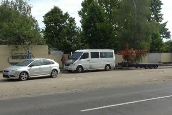 Ma is fogtak egy elképesztő román járműkaravánt a rendőrök