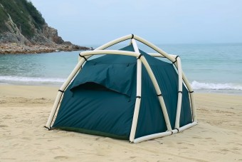 Végre egy sátor, amit nem csak felállítani könnyű