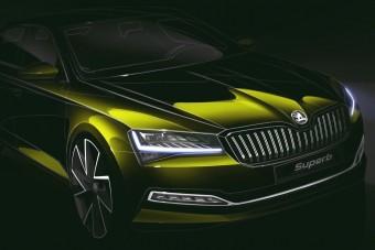 Luxusautós funkcióval érkezik az új Škoda Superb