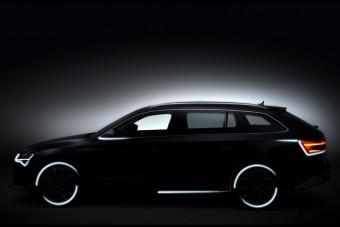 Terepkombi készült a Škoda Superbből