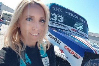 Vogel Adrienn elárulta, visszatér-e a kamionversenyzésbe