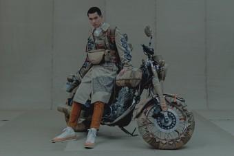 Motorkerékpárnak tervezett ruhát egy őrült japán dizájner